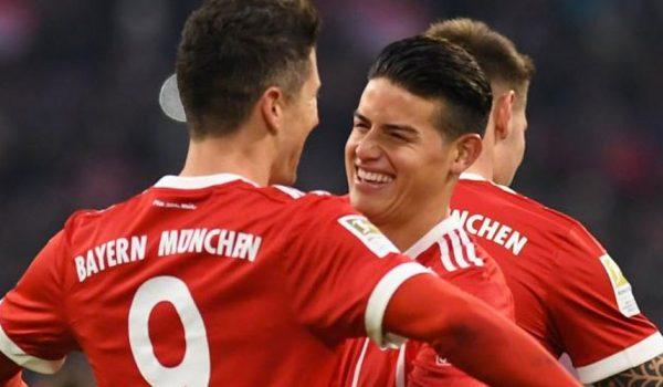 «James ha evolucionado muy positivamente en el Bayern» Heynckes