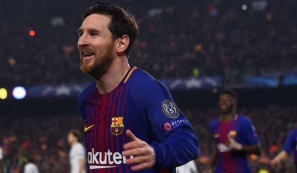 [VIDEO]Golazo de Messi pone a ganar al Barca