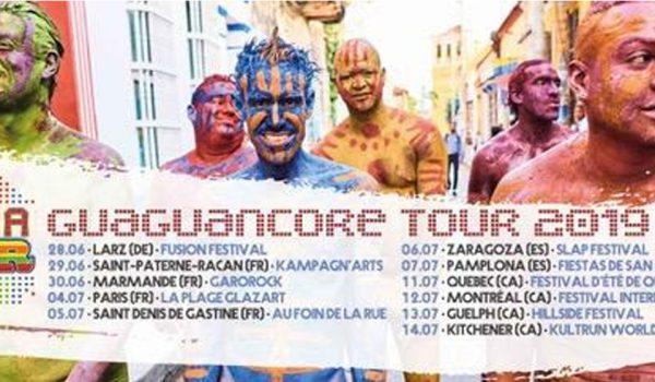 SYSTEMA SOLAR ANUNCIA «GUAGUANCORE TOUR 2019»  Y CELEBRA EL MEDIO MILLÓN DE REPRODUCCIONES DE SU MÁS RECIENTE SENCILLO «ES EL AMOR»